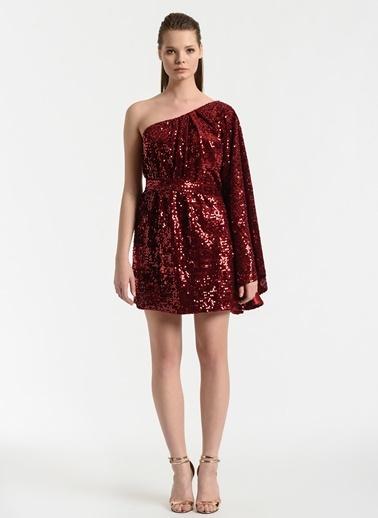 Meltem Özbek Elbise Kırmızı